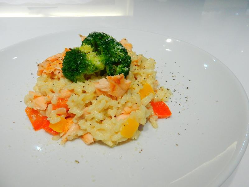 【小磨坊】鮭魚奶油燉飯