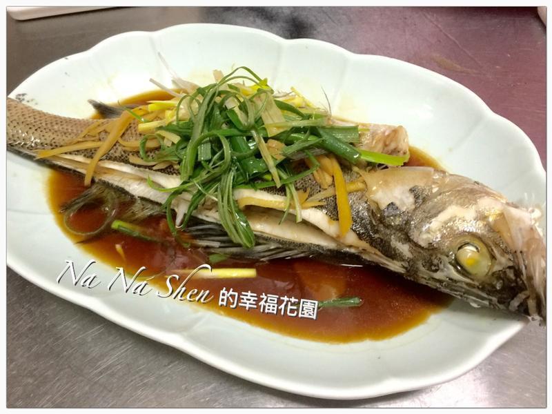 蔥薑清蒸鱸魚