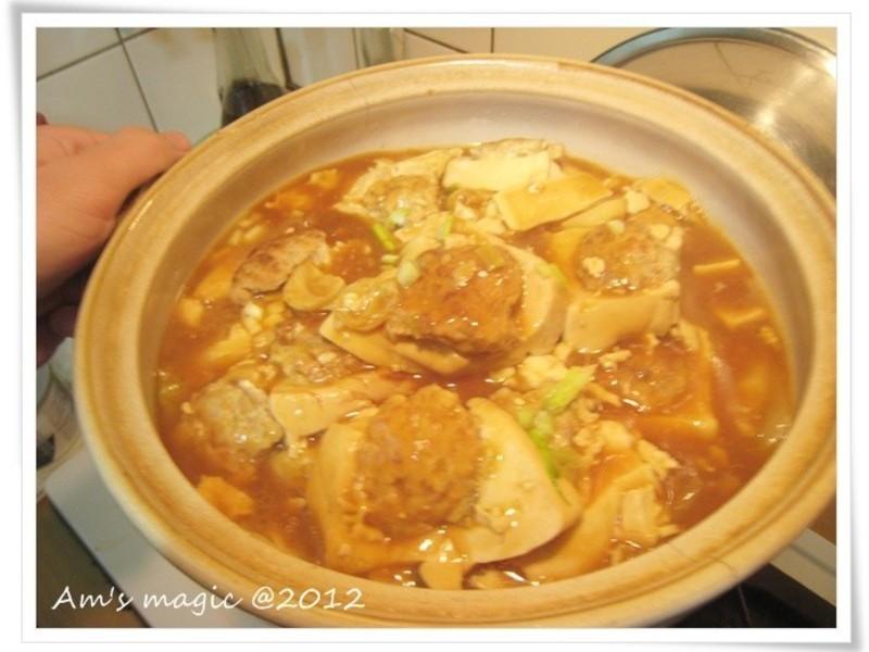 AM魔力~年菜系列6 白菜釀豆腐