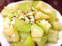 鹹蛋炒瓠瓜