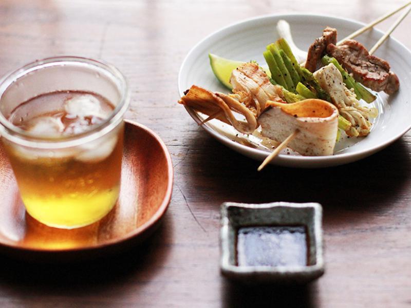 豐年農場・日式菇串燒
