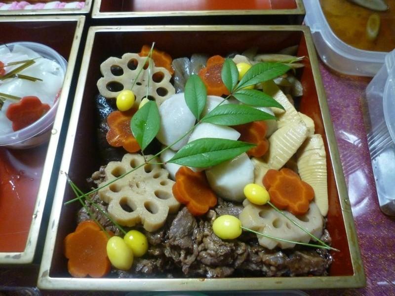 .゚+:✿。.日式年菜の煮しめ.゚+:✿。.゚