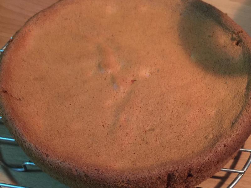 西瓜蛋糕(天然色素:火龍果)