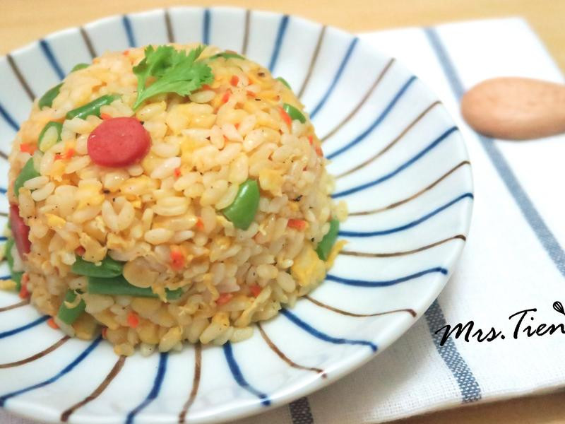 黃金蛋炒飯 ✿小田太太玩樂廚房✿