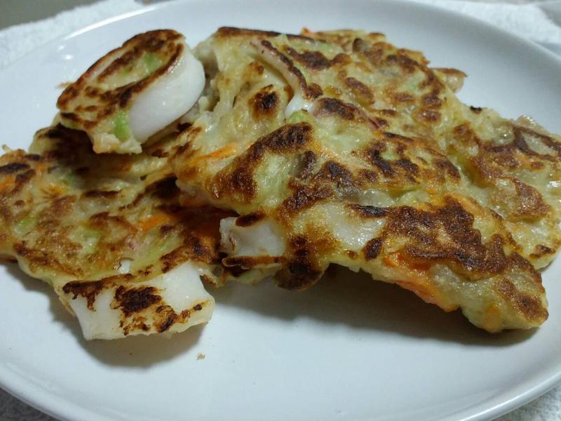 扁蒲海鮮煎餅