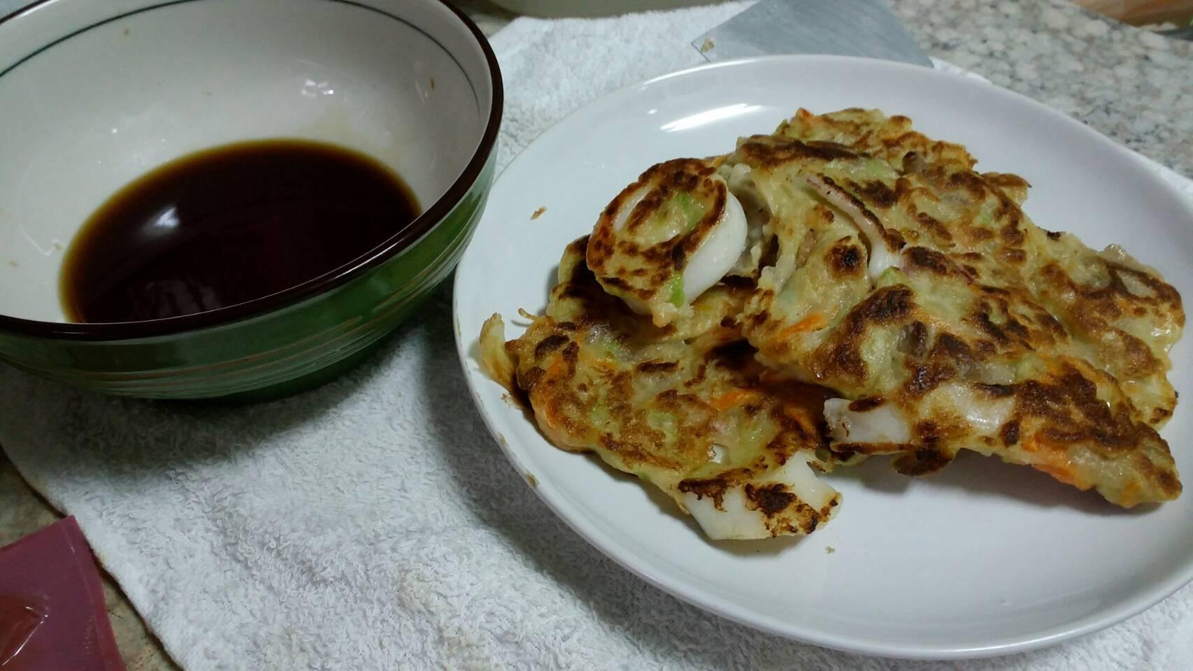 韓式海鮮煎餅醬汁(改良)