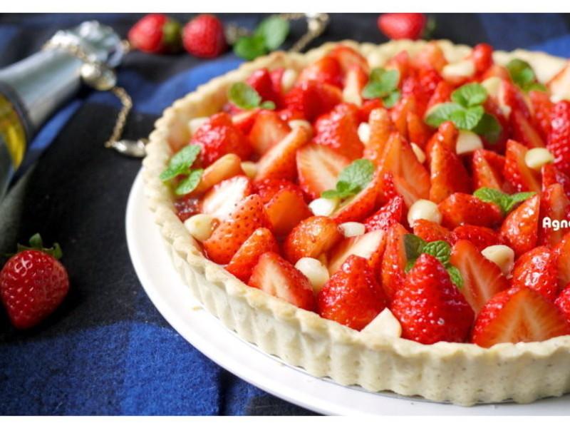 [阿妮塔♥sweet] 甜蜜冬日草莓塔。
