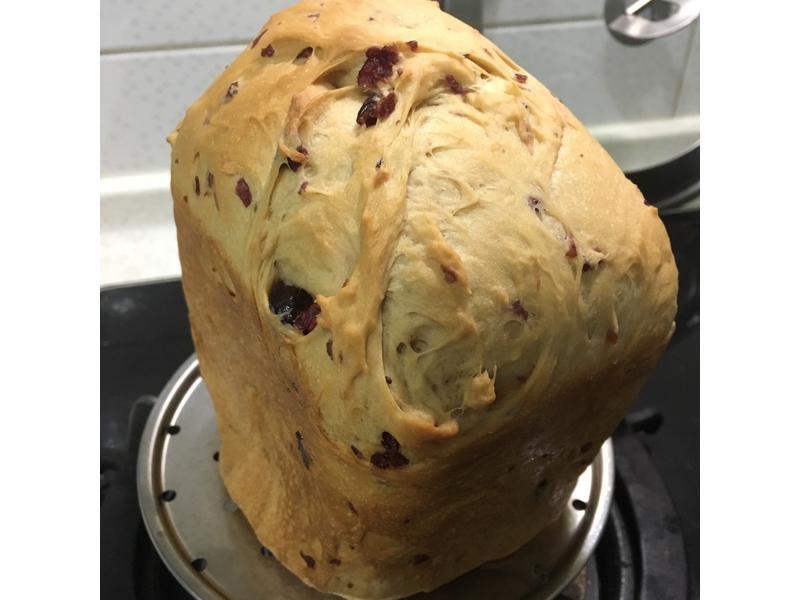 蔓越莓黑糖吐司麵包(一鍵完成)