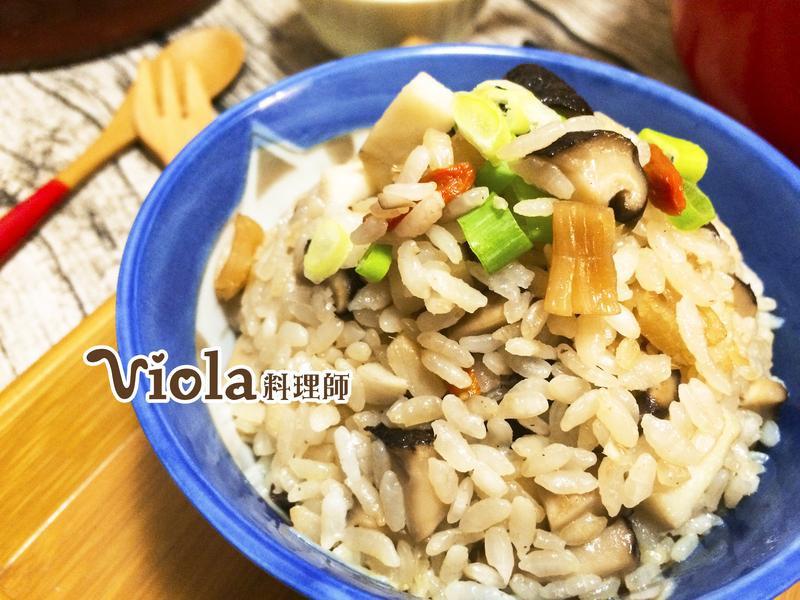 干貝竹筍炊飯