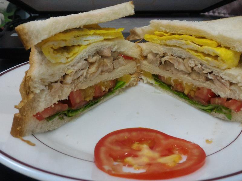 清爽開胃低熱量簡易三明治