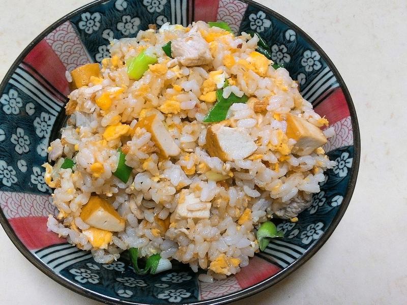 豆雞丁蛋炒飯🍱