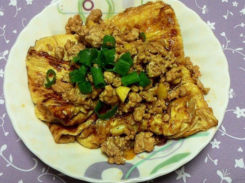 豆皮香燴絞肉