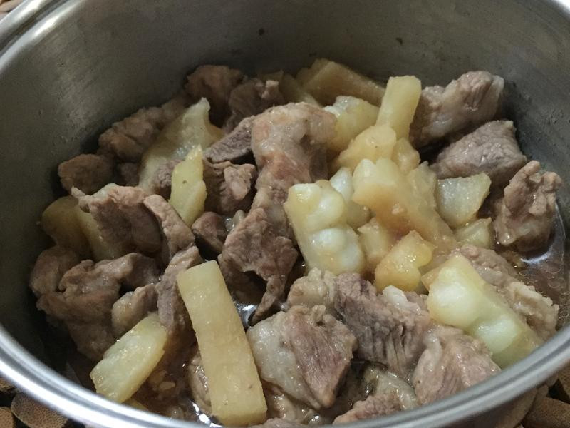 好下飯的鮮嫩苦瓜燉梅花豬