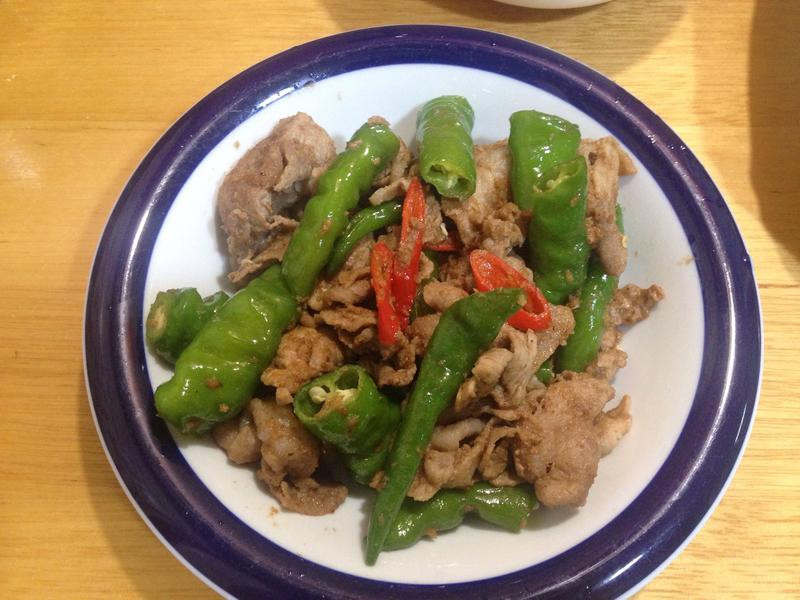 青龍沙茶豬肉片