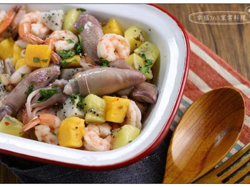 泰式涼拌水果海鮮