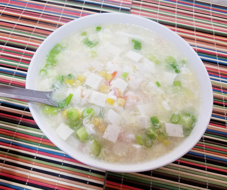 鮮蝦蟹肉豆腐羮