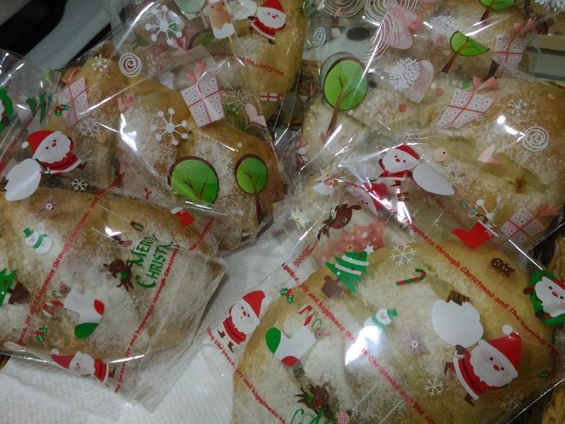果乾鄉村麵包(鳥越製粉)