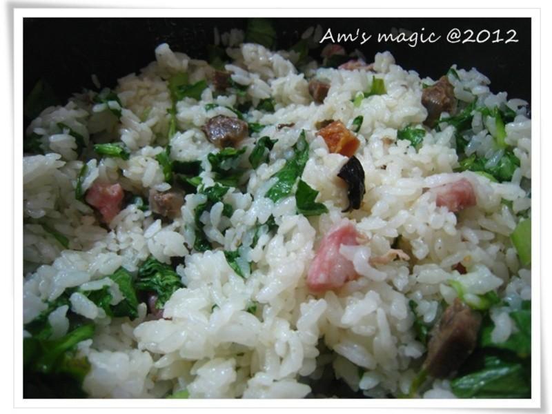 AM魔力~剩菜變成上海菜飯