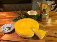 【免烤箱】芒果果凍起司蛋糕