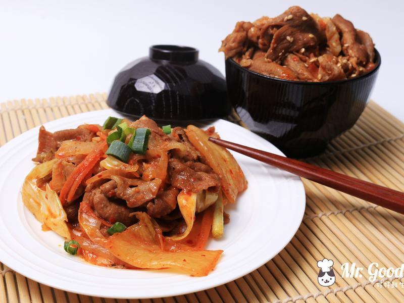 泡菜炒豬肉片【好好鮮生料理廚房】