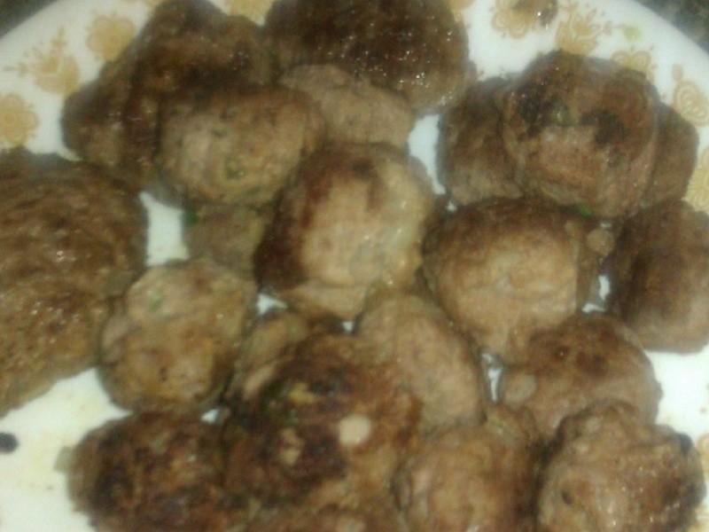瑞典牛肉丸子/漢堡肉
