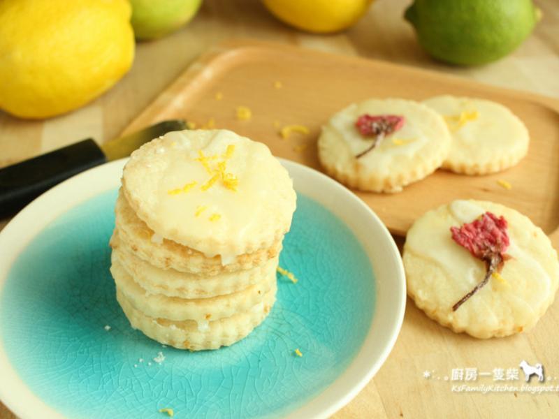 簡易檸檬糖霜餅乾(無蛋+植物油配方)