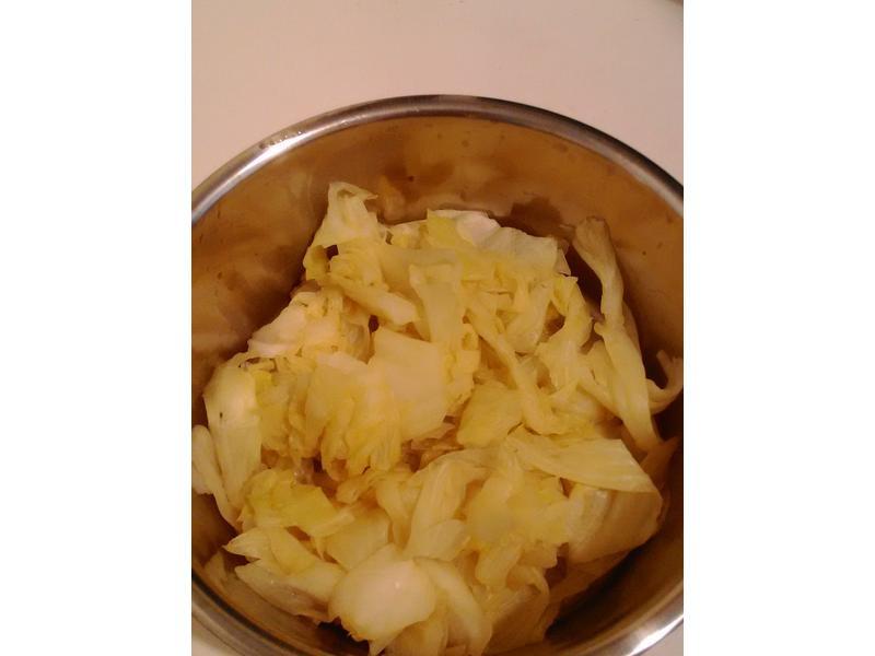 簡單無油料理-清炒高麗菜