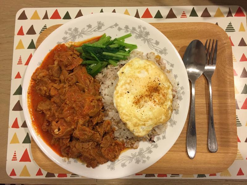 *愛妻5分鐘料理*韓式辣豬肉飯