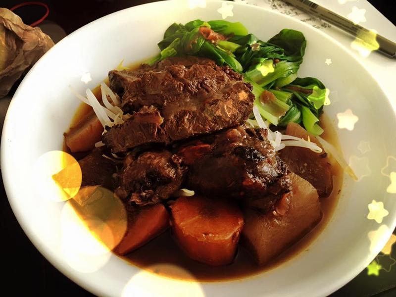 紅燒番茄牛肉麵