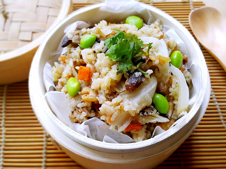 高麗菜飯(電鍋版)