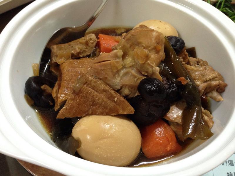 滷香菇土雞腿肉