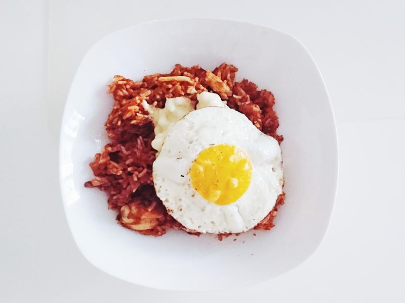 EXO燦烈_泡菜金槍魚起司炒飯/蛋奶素