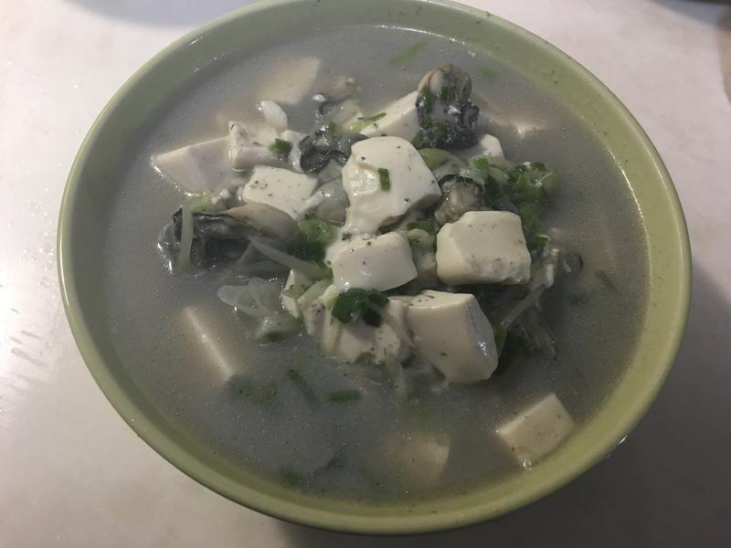 鮮蚵嫩豆腐
