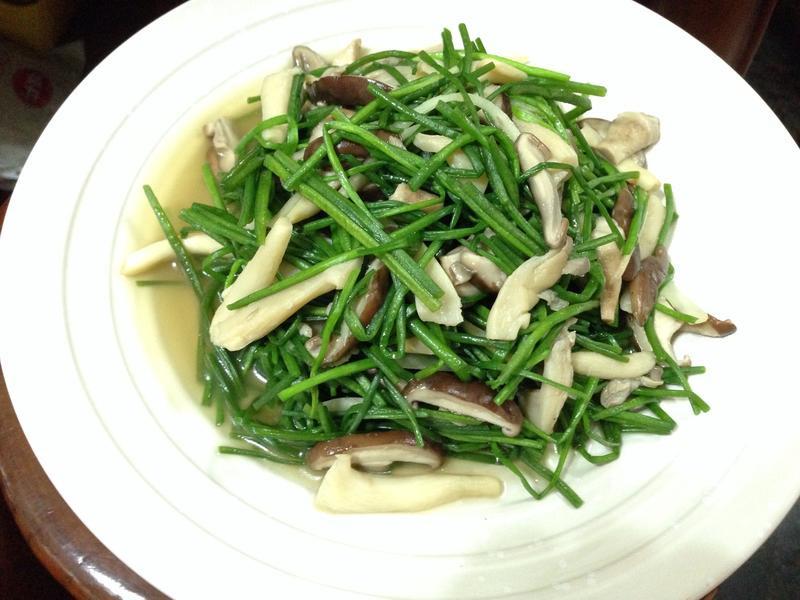 野蓮炒雙菇
