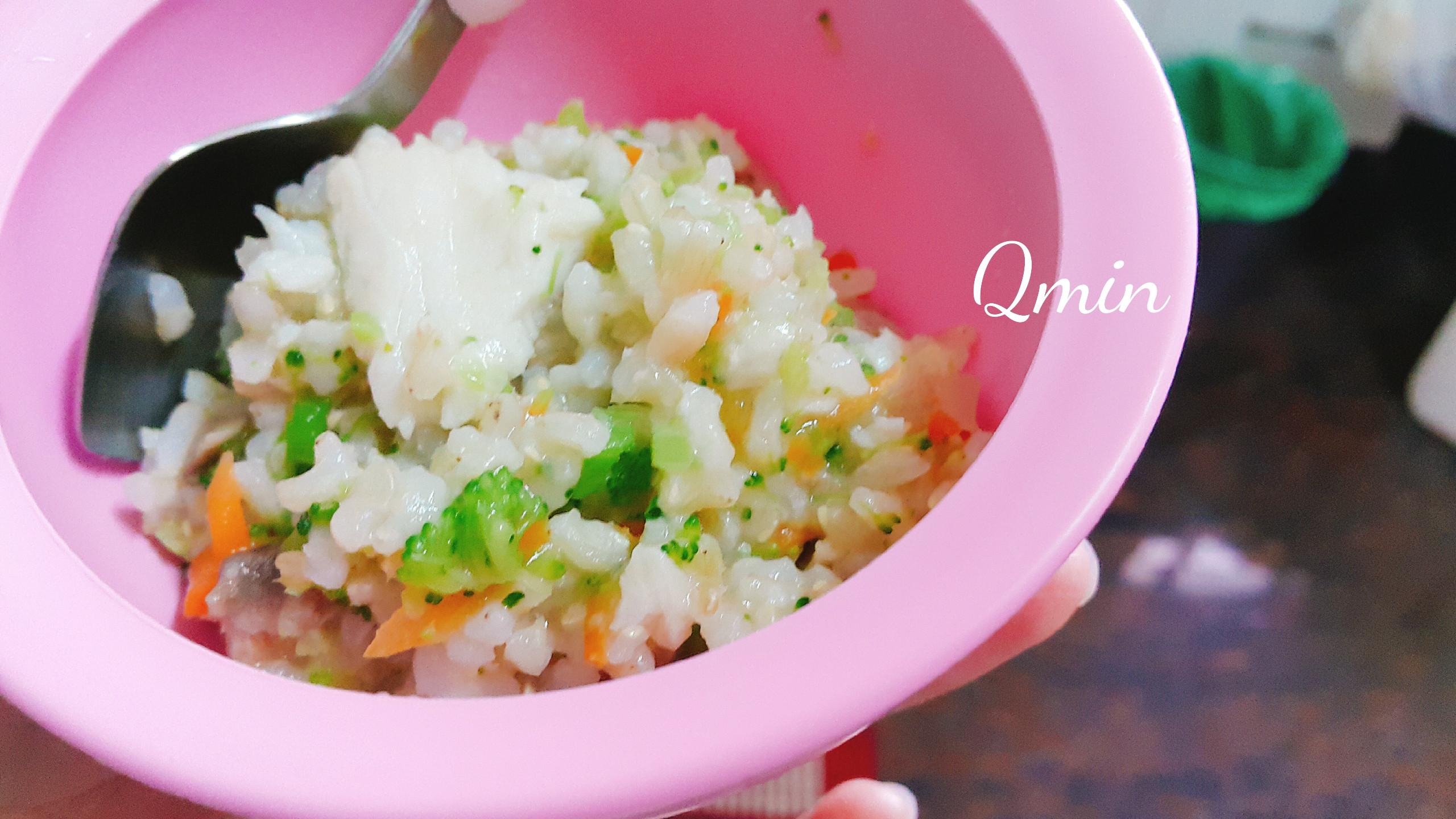 花椰菜魚魚飯