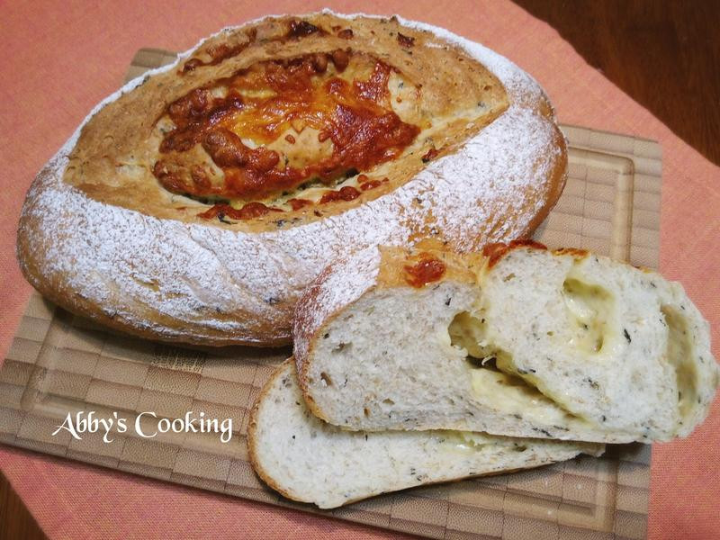 全麥九層塔(羅勒)乳酪麵包