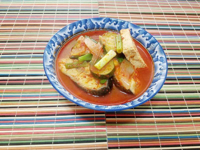韓式辣魚湯