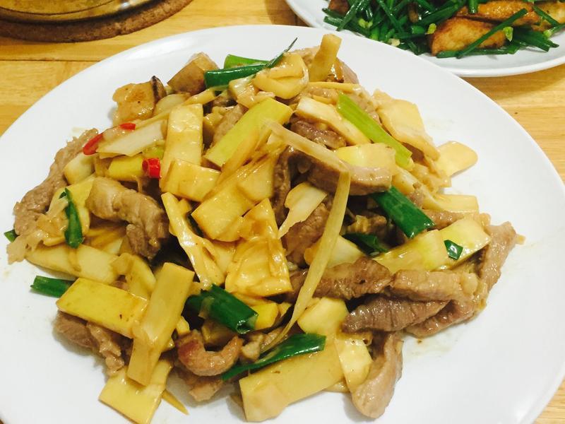 竹筍炒肉絲🍚🍚🍚