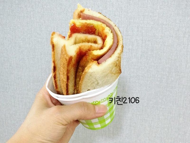 韓國古早味三明治---옛날토스트