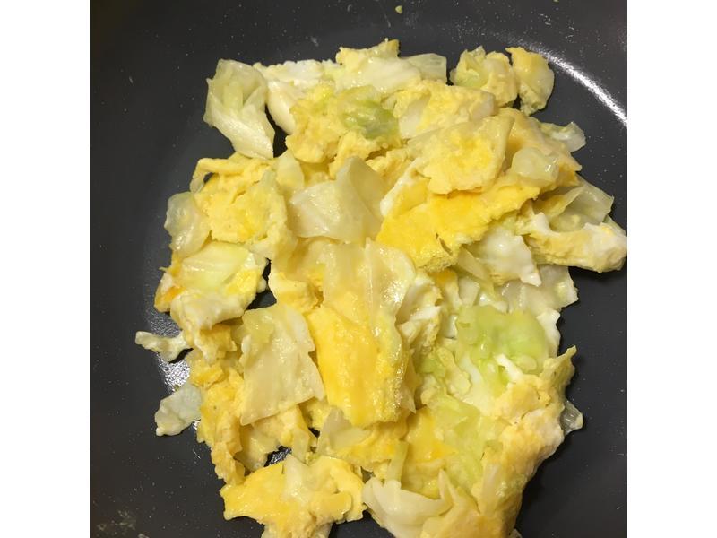 高麗菜炒蛋