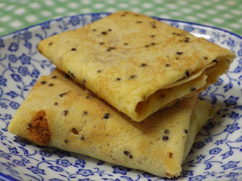 紅藜肉鬆薄脆煎餅
