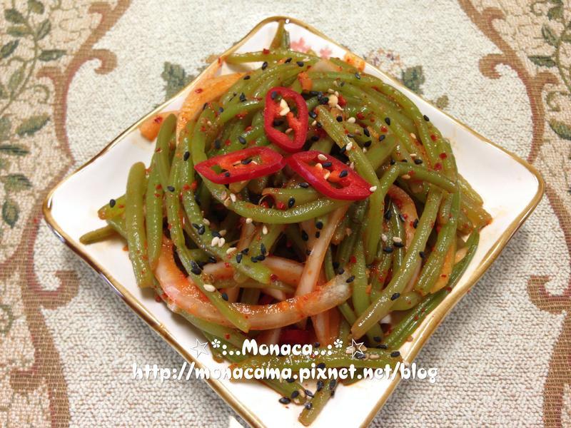 韓式涼拌地瓜梗고구마순무침