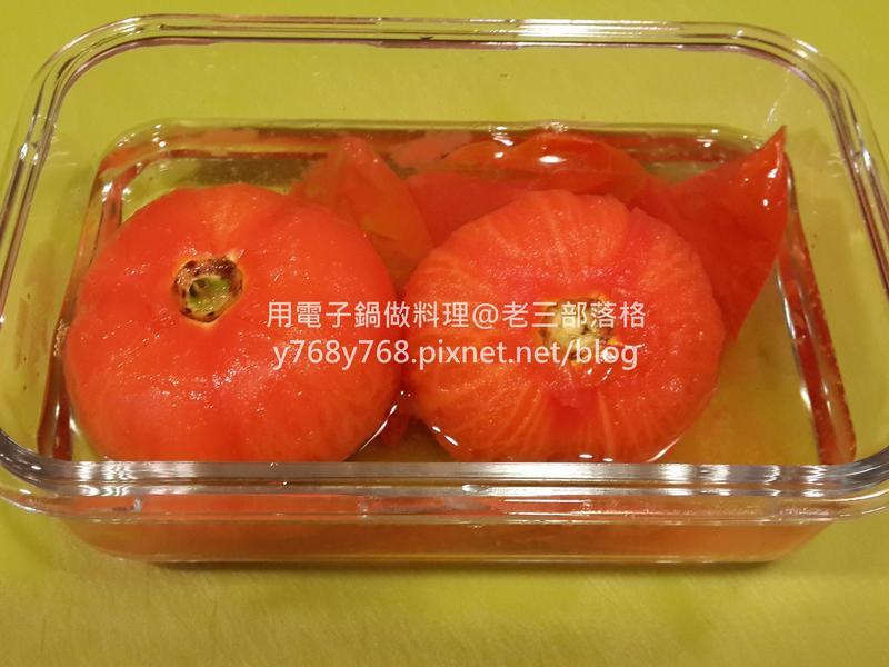 金桔果醋醃漬蕃茄