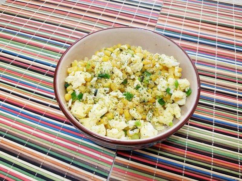 蔥香玉米炒蛋