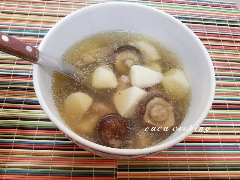 香菇竹筍排骨湯