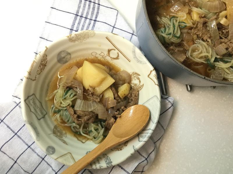 [一鍋到底]男友最愛日式馬鈴薯燉肉