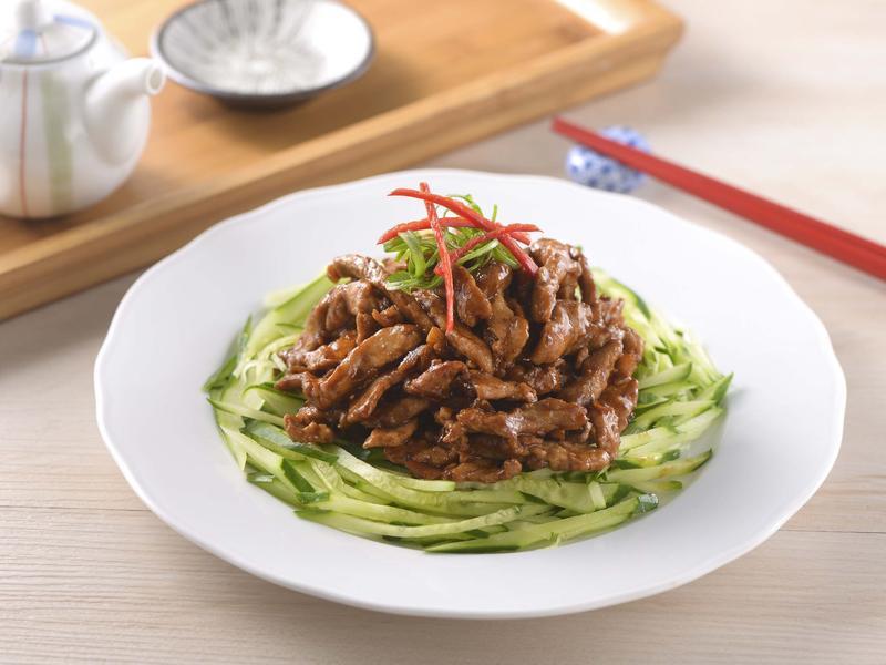 京醬肉絲(家香豬)