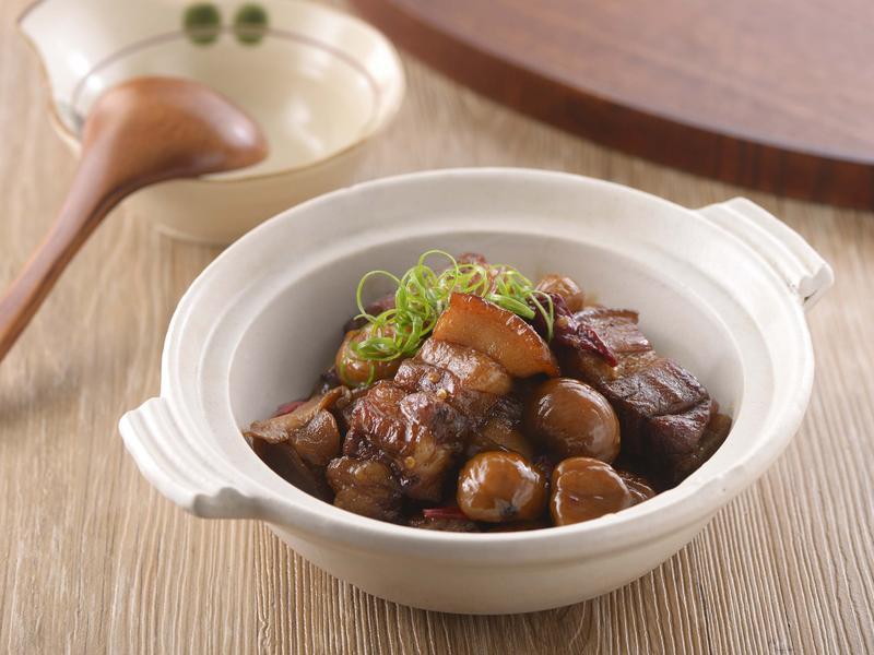 栗子燒肉(家香豬)
