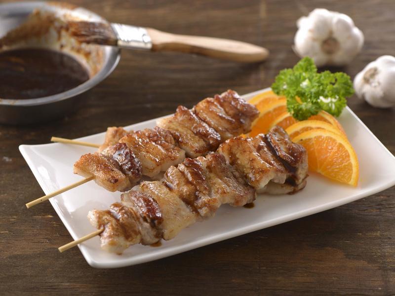 蜜汁烤肉串(家香豬)