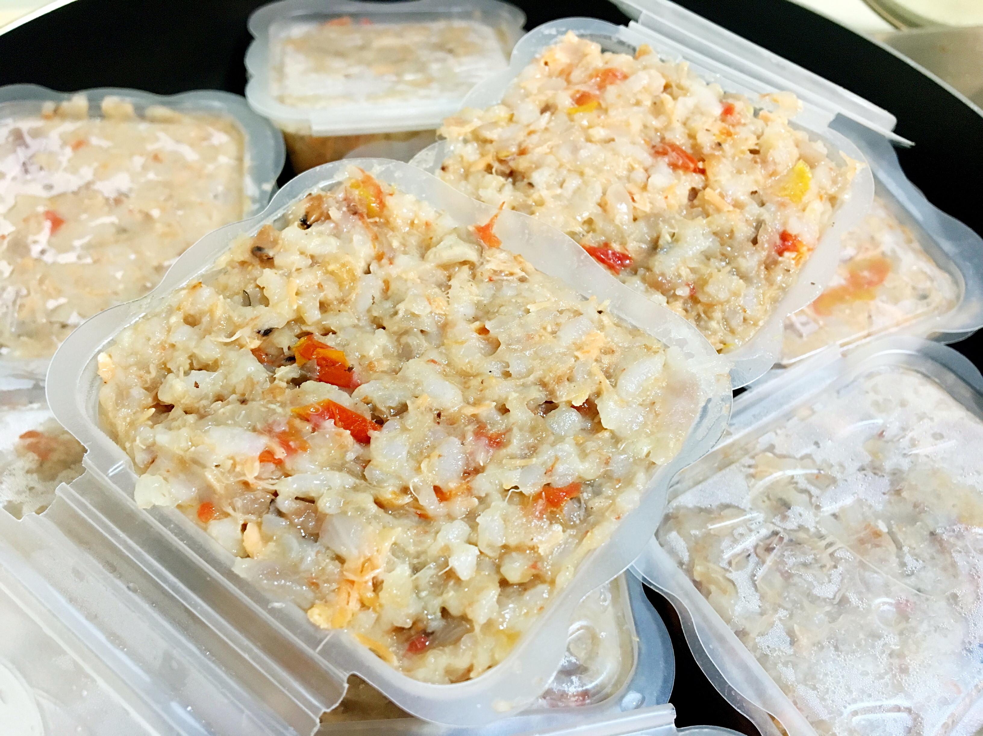 寶寶副食品👶🏻番茄鮭魚菇菇粥